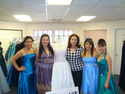 Dream Dress Drive Boutique - Sponsor a Young Woman